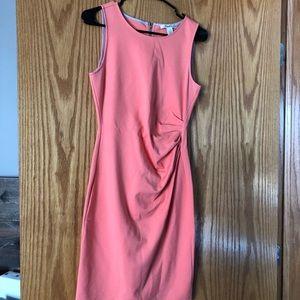 Kenneth Cole peach dress